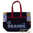 GRANDE Fior ビッグトートバッグ ブラック【グランデ/サッカー/フットサル/サポーター/BAG/ボタニカル】GRN2015SS