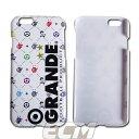 GRANDE MONOGRAM ホワイト iPhone6 & 6S 専用ケース 【グランデ/サッカー/フットサル/サポーター/docomo/au/softbank/i-phone/iPhone6..
