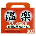 【送料無料】オカモト 温楽 (貼るカイロ)【30個×8個】(...