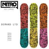 SALEセール 50%OFF メンズスノーボード NITRO ナイトロ DEMAND LTD GULLWING デマンド 15-16モデル CX L10
