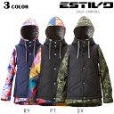SALEセール 大特価 レディース スノーボードウェア ジャケット ESTIVO エスティボ EVW
