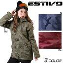 SALEセール 大特価 スノーボード ウェア ジャケット ESTIVO エスティボ EVW1522 15-16モデル レディース D1 K18