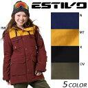 SALEセール 大特価 スノーボード ウェア ジャケット ESTIVO エスティボ EVW1523 15-16モデル レディース D1 K18