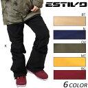 SALEセール 大特価 スノーボード ウェア パンツ ESTIVO エスティボ EVW3520 15-16モデル レディース D1 K19