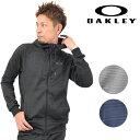 送料無料 SALE セール 20%OFF 【数量限定】 メンズ ジップアップ パーカー OAKLEY オークリー Enhance Tenhnical Fleece Jacket-Grid 7 461542JP EE1 A19