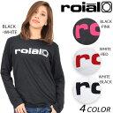レディース 長袖 Tシャツ roial ロイアル GTS358 EE1 A9