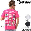 SALE セール 20%OFF メンズ 半袖 Tシャツ Real.B.Voice リアルビーボイス