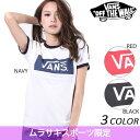 送料無料 レディース 半袖 Tシャツ VANS バンズ VA17SS-GT56MS 限定商品 EE1 D6