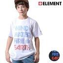 SALE セール 50%OFF キッズ 半袖 Tシャツ ELEMENT エレメント AH025-203 (90cm〜160cm) F1S D25