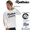SALE セール 20%OFF メンズ 長袖 Tシャツ Real.B.Voice リアルビーボイス