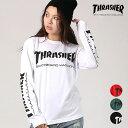 THRASHER スラッシャー レディース 長袖 Tシャツ TH8301-SL GG I12