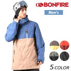 送料無料 SALE セール 40%OFF スノーボード ウェア ジャケット BONFIRE ボンファイアー ANCHOR SHELL JKT 17-18モデル メンズ EE K6