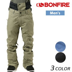 送料無料 SALE セール 40%OFF スノーボード ウェア パンツ BONFIRE ボンファイアー M BLACKLINE PT 17-18モデル メンズ EE K7