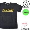 SALE セール 20%OFF キッズ 半袖 Tシャツ VOLCOM ボルコム Vol Crop S/S Tee Youth C3541702 FX1 L11