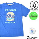 SALE セール 20%OFF キッズ 半袖 Tシャツ VOLCOM ボルコム Cool Club S/S Tee Youth C3541731 FX1 L11