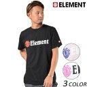 メンズ 半袖 Tシャツ ELEMENT エレメント AI021-200 FX1 A9