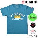 キッズ 半袖 Tシャツ ELEMENT エレメント AI025-200 (130cm〜160cm) FX1 B19