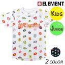 キッズ 半袖 Tシャツ ELEMENT エレメント AI025-303 (90cm〜160cm) FX1 B19