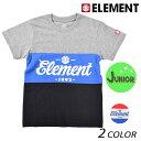 キッズ 半袖 Tシャツ ELEMENT エレメント AI025-304 (130cm〜160cm) FX1 B19