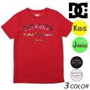 SALE セール 20%OFF キッズ 半袖 Tシャツ DC ディーシー 7126J808 (120cm〜160cm) FX1 C31