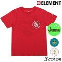 キッズ 半袖 Tシャツ ELEMENT エレメント AI025-205 (130cm〜160cm) FF1 C30