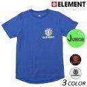 キッズ 半袖 Tシャツ ELEMENT エレメント AI025-302 (130cm〜160cm) FF1 C30