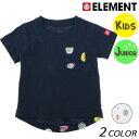 キッズ 半袖 Tシャツ ELEMENT エレメント AI025-305 (90cm〜160cm) FF1 C30