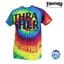 レディース 半袖 Tシャツ THRASHER スラッシャー TH8188RTD-L ムラサキスポーツ限定 ご当地商品 FF2 D5