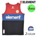 キッズ タンクトップ ELEMENT エレメント AI025-350 (130cm〜160cm) FX1 D16