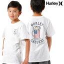 SALE セール 20 OFF キッズ トップス 半袖 Tシャツ Hurley ハーレー ABAA5336 130cm〜150cm 男の子 女の子 ボーイズ ガールズ 子供用 子供 FF D27