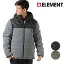 送料無料 メンズ 中綿 ジャケット ELEMENT エレメント AI022-754 アウター カジュアル ストリート 冬 秋冬 軽量 軽い FX3 H21