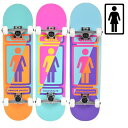 送料無料 スケートボード コンプリートセット GIRL ガール GMPPC3 MR PRICE POINT COMPLETES 3 ムラサキスポーツ限定 FF K27
