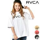 RVCA rvca ルーカ Tシャツ 半袖 レディース BIG SS トップス ロング丈 ビッグシルエット ドロップショルダー AJ043-200 GG1 B19