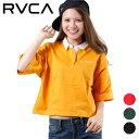 RVCA ルーカ レディース 半袖 ポロシャツ AJ043-P15 ムラサキスポーツ限定 GG1 C11
