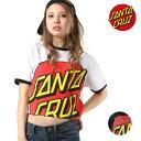 レディース 半袖 Tシャツ SANTA CRUZ サンタクルーズ 50291411 ムラサキスポーツ限定 GG1 E14