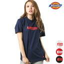 レディース 半袖 Tシャツ Dickies ディッキーズ DK006635 シンプル ボックスロゴ GG1 E14