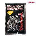 スケートボード パーツ ビス Diamond Supply Co. ダイヤモンド サプライ DHTH7/812PA HELLA TIGHT HARDWARE 7/8inch GG B10