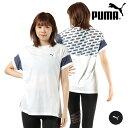 PUMA プーマ 519243 レディース 半袖 Tシャツ フィットネス HX1 C14