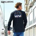 BILLABONG ビラボン BA012-050 メンズ 長袖 Tシャツ トップス バックプリント HX3 H27 MM