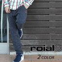 SALE セール 50%OFF メンズ ロング パンツ (スウェット) roial ロイアル × ROKX ロックス CO21 EE3 H16