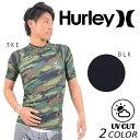 メンズ半袖ラッシュガード Hurley ハーレー MZRSSIC16 DD1 E27