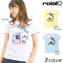 レディース 半袖 Tシャツ roial ロイアル GLTD145 DD2 E8