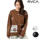 RVCA ルーカ レディース 長袖 Tシャツ AJ044-060 GG4 L10