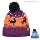 ショッピングノルディック スノーボード ビーニー ニット帽 SPACECRAFT スペースクラフト MYTHICAL POM 20-21モデル HX A12 MM
