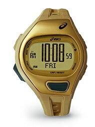 腕時計アシックス asics SPMランニングウオッチ CQAP0103 ゴールド/ゴールド  腕時計 【送料/き手数料無料】 【smtb-ms】 ピッチ管理したい!