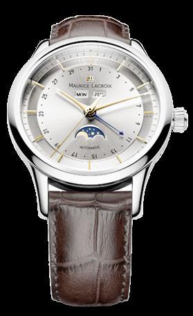 腕時計メンズ  モーリス・ラクロア Maurice Lacroix  レ・クラシック ムーンフェイズLC6068-SS001-132  腕時計メンズ [メーカー保証付 ] 【smtb-ms】