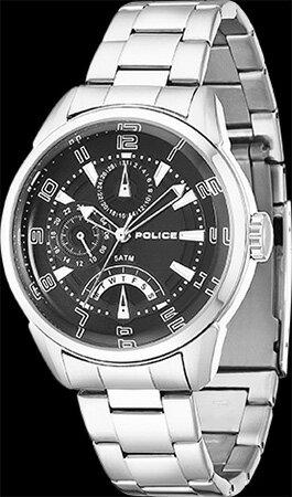 メンズ腕時計ポリス14407JS-02Mブラック フラッシュPOLICE 【smtb-ms】【送料/き手数料無料】