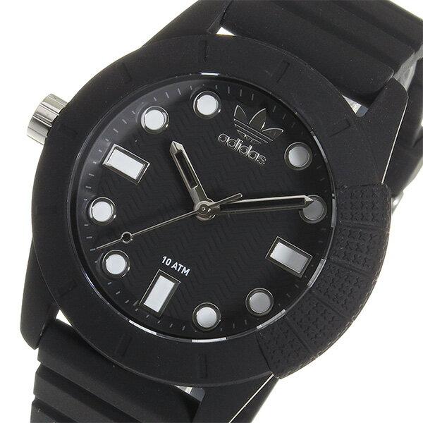 アディダス 腕時計  メンズ ADH3101 ADIDAS  スーパースター クオーツ  ブラック 送料き手数料無料smtb-ms
