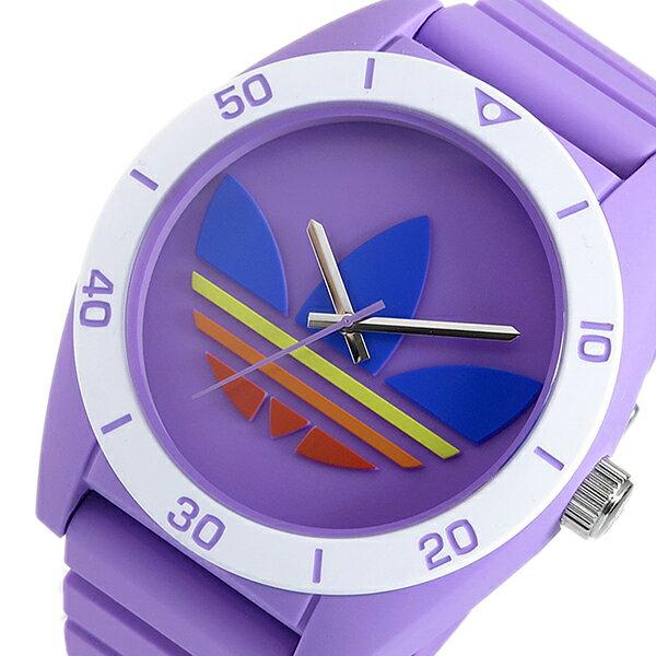 アディダス 腕時計 メンズ  ADH9066 ADIDAS  オリジナルス ORIGINALS サンティアゴ クオーツ パープル き手数料無料 優れました