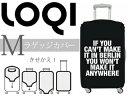 LOQI/ローキー スーツケースカバー(M)サイズ TYPE  【Berlin/ベルリン】 【Luggage Covers】キャリーケースカバー ラゲッジカバー...